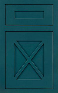 Amesbury Platinum Inset Door