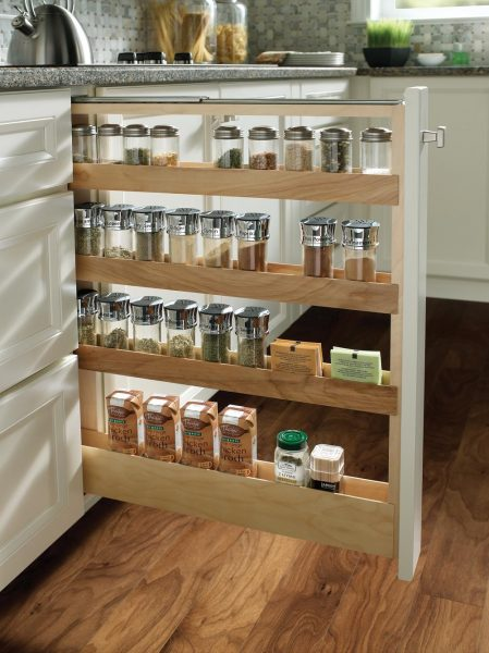 Medallion Cabinetry Pull Out Spice Rack