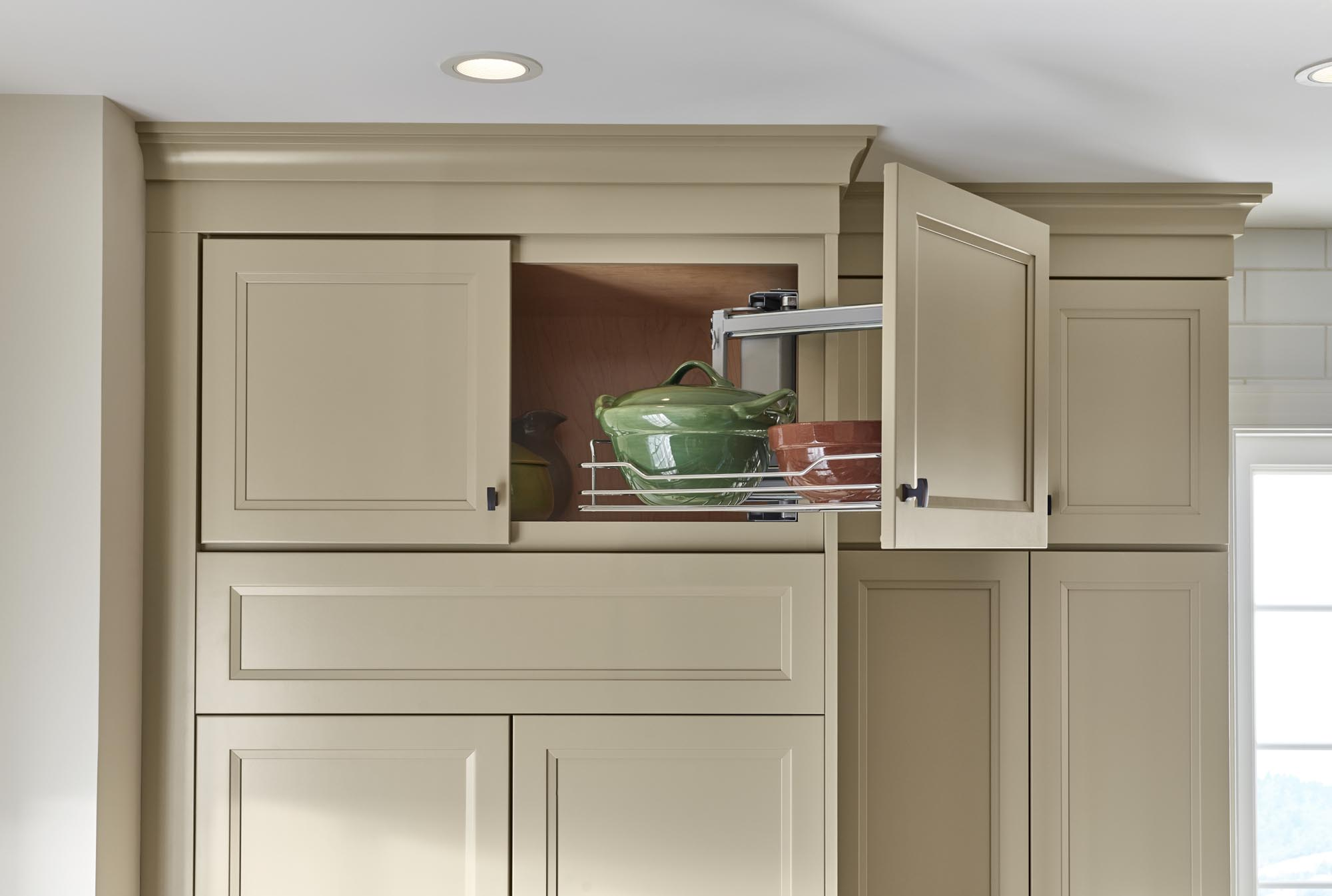Swing-Out Upper Cabinet