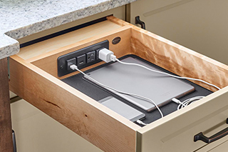 Mobile Device Charging Drawer