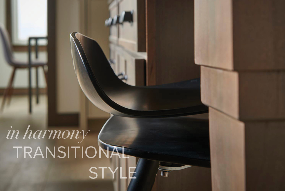 in harmony:  Transitional Style
